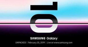 Samsung: Galaxy S10 sarà presentato il 20 Febbraio