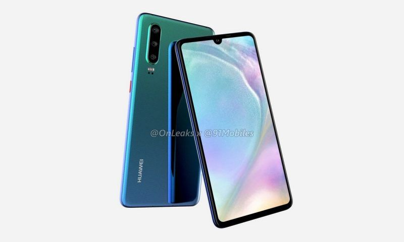 Huawei P30: prime immagini e render video