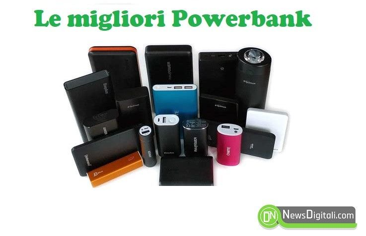Migliori Powerbank, eccone alcune selezionate