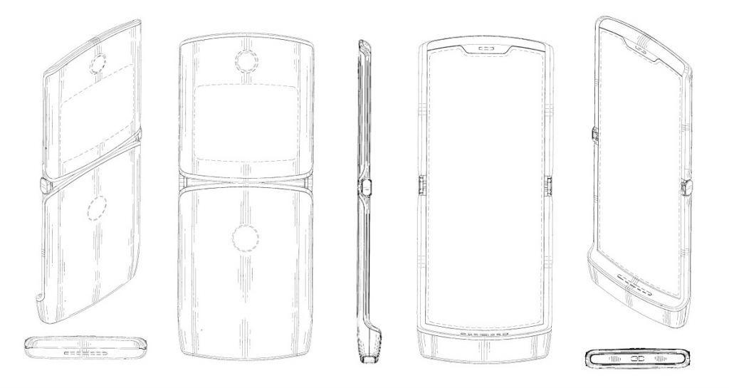 Progetto presentato da Motorola per il ritorno di un nuovo leggendario RAZR