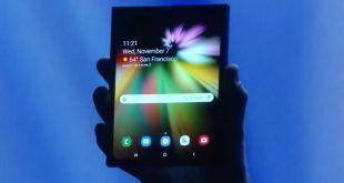 Samsung presenta il suo smartphone pieghevole al CES 2019
