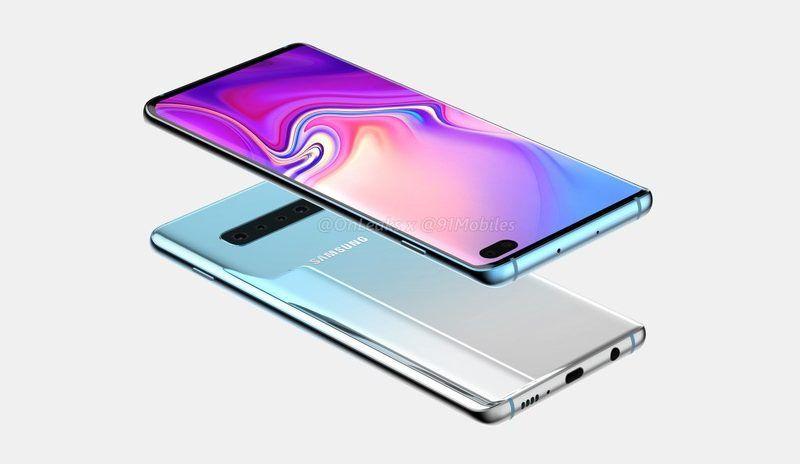 Samsung Galaxy S10, svelate le capacità delle batterie per i tre modelli
