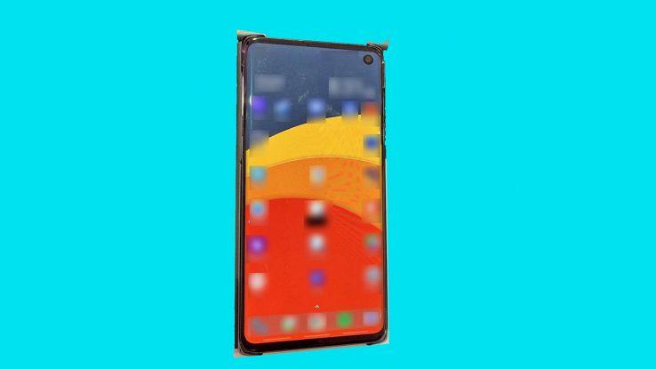 Samsung Galaxy S10 nella prima foto rubata