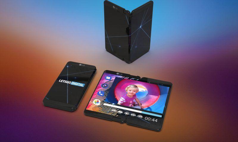 LG brevetta lo smartphone pieghevole con schermo flessibile