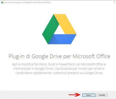 Configurazione Plugin Drive
