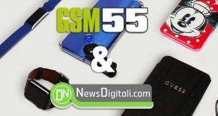 Accessori Smartphone GSM55, Sconti del 15% fino a fine febbraio