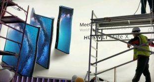 Mate X: ecco lo smartphone pieghevole in 5G di Huawei