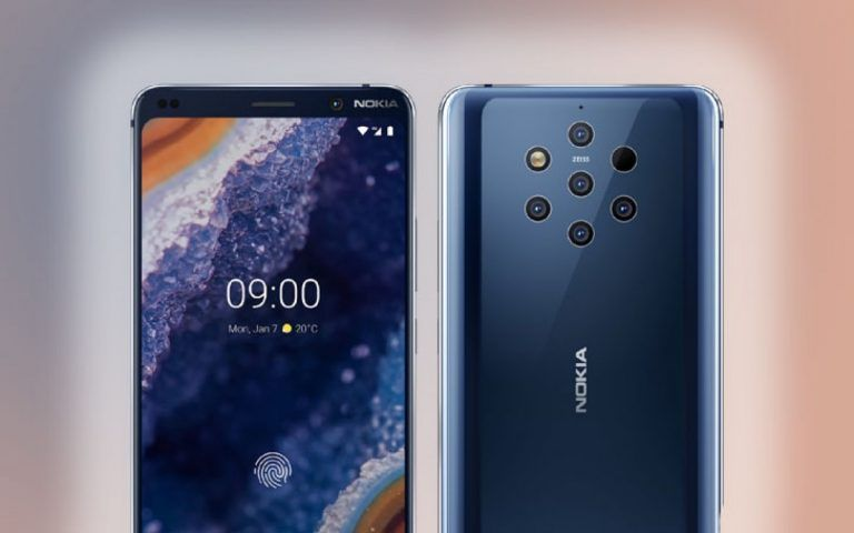 Nokia 9 PureView stupisce con le sue cinque fotocamere