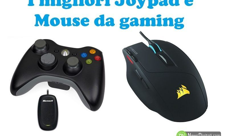 I migliori Joypad e Mouse da gaming, quale scegliere