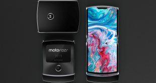 Moto RAZR 2019: i render mostrano uno spettacolare smartphone pieghevole