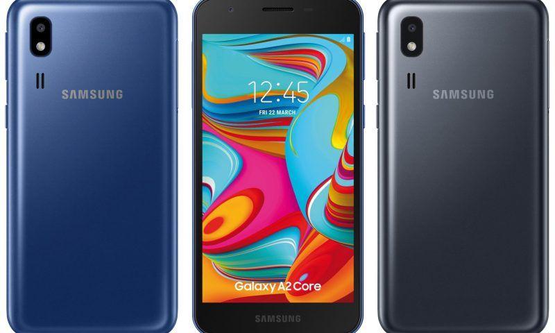 Galaxy A2 Core: prime foto per il nuovo smartphone economico di Samsung
