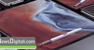 Samsung pieghevole a conchiglia, le immagini dal nuovo brevetto