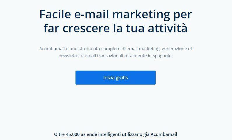 Un nuovo modo di fare e-mail marketing con Acumbamail