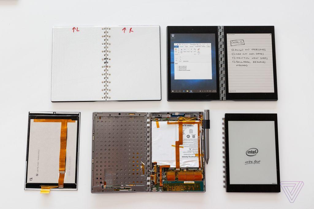 Concetti Intel a doppio schermo. Foto di Vjeran Pavic / The Verge