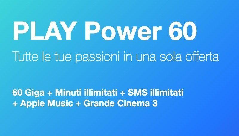 Tre PLAY Power 60: la nuova offerta con tanti giga e cinema incluso