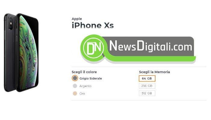 Come avere iPhone XS con Wind con offerta inclusa a soli 28,98 euro al mese
