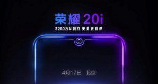 Honor 20i: data ufficiale e primo teaser