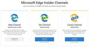 Microsoft Edge: disponibili le prime build basate su Chromium