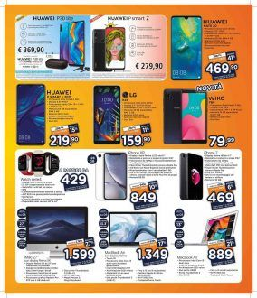 Unieuro sfida la concorrenza con prezzi top per alcuni smartphone