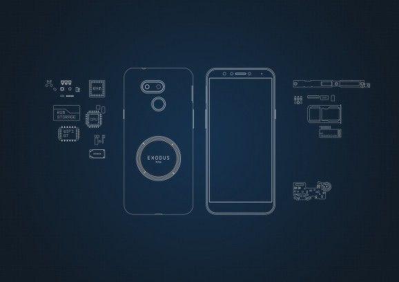 HTC presenta il nuovo Exodus 1s, uno smartphone blockchain economico