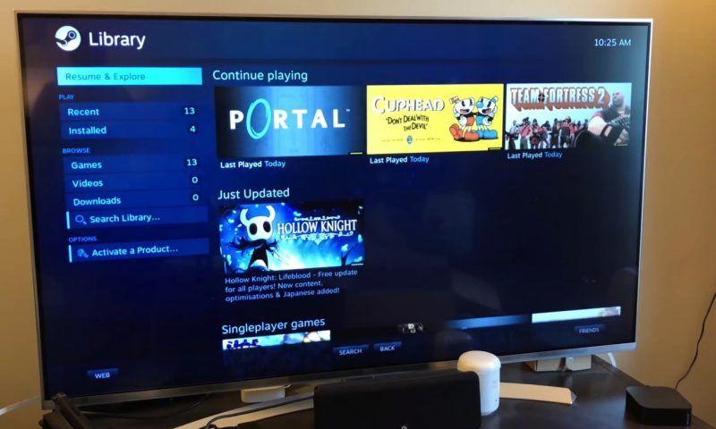 Steam Link arriva su iOS e Apple TV