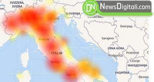 Wind Down con forti problemi in tutta Italia