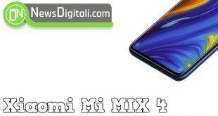 Xiaomi Mi MIX 4 sarà più potente del tuo computer