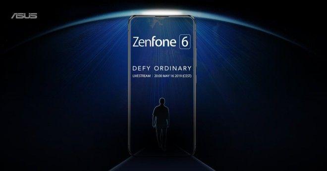 ASUS ZenFone 6: la prima immagine teaser conferma l'assenza del notch