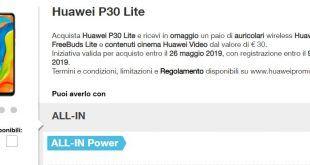 Come avere Huawei P30 Lite con Tre con anticipo zero a 16,98 euro al mese