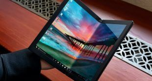 Lenovo presenta il primo PC portatile pieghevole