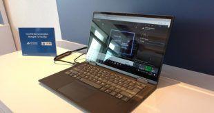 Project limitless: presentato il primo portatile Windows 10 con 5G