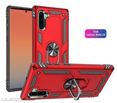 Samsung Galaxy Note 10 strizza l'occhio alla serie Huawei P30 in queste nuove immagini