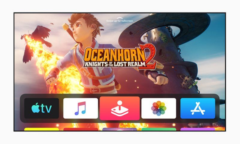 Apple: tvOS 13 tra gaming e multimedialità, arriva la dark mode su iOS 13
