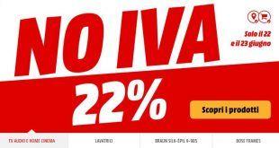 MediaWorld sconta l'IVA su centinaia di prodotti fino a domani