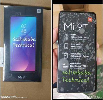 Xiaomi Mi 9T: confermata la variante Redmi K20, primo sguardo alla scatola