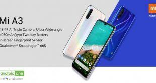 Xiaomi Mi A3 è ufficiale in Italia, svelato il prezzo e la data di lancio