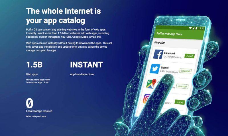 Puffin OS: presto su Kickstarter un nuovo sistema operativo mobile