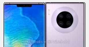 Ecco come appare Huawei Mate 30 Pro secondo gli ultimi rumors