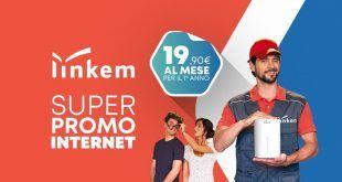 Linkem: Super Promo Internet a 19,90 Euro al mese