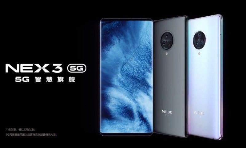 Vivo NEX 3 5G: il primo teaser trailer, lancio fissato per il 16 Settembre