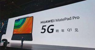 Huawei presenta MatePad Pro, uno dei primi tablet 5G