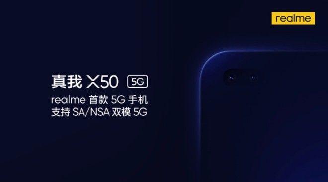 Realme: svelato il nome del primo smartphone 5G dell'azienda