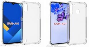 Svelati i design dei Galaxy A01 e A21 di Samsung