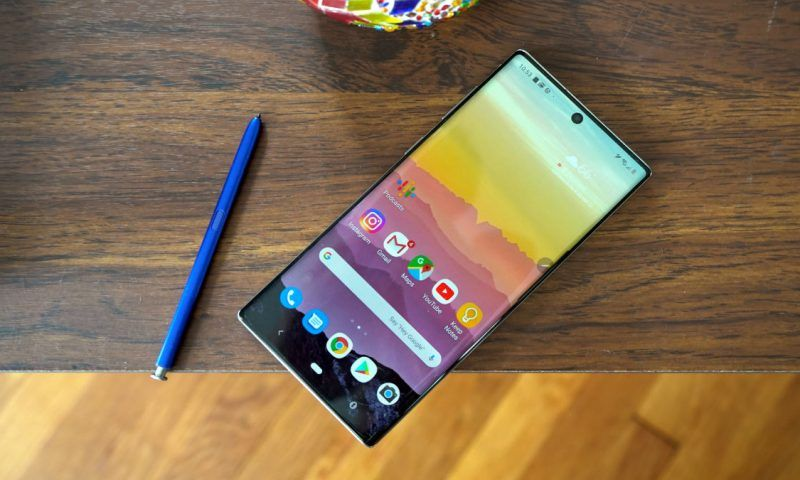 Samsung Galaxy Note 10 Lite riceve Android 11