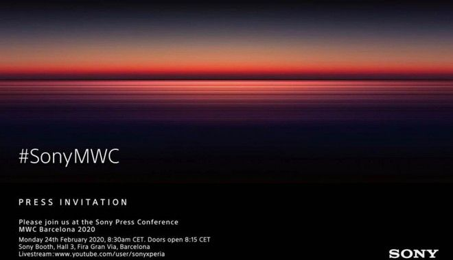 MWC 2020: Sony annuncia la sua partecipazione per l'evento di febbraio