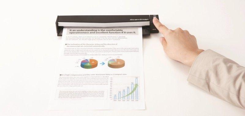 Fujitsu ScanSnap S1100 lo scanner ideale per chi è sempre in viaggio