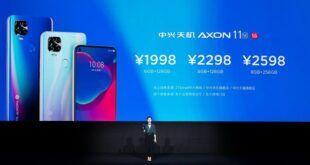 ZTE Axon 11 SE 5G è ufficiale: prezzo e specifiche