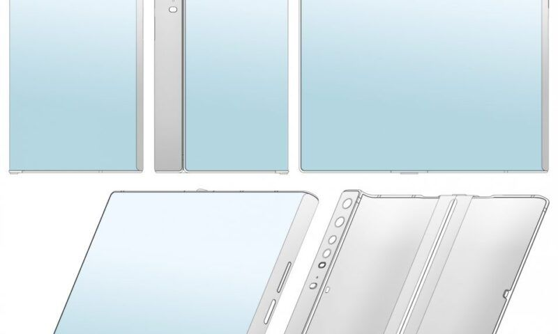 Xiaomi deposita il brevetto per uno smartphone pieghevole