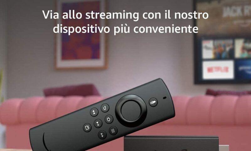 Amazon Fire TV Lite e Fire TV Cube arrivano in Italia