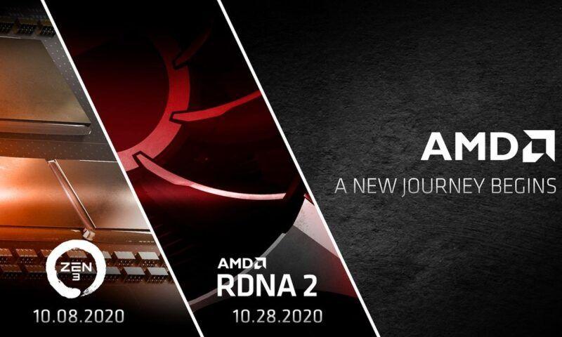 AMD: annunciate le date di uscita CPU Zen 3 e Radeon RX 6000 RDNA2